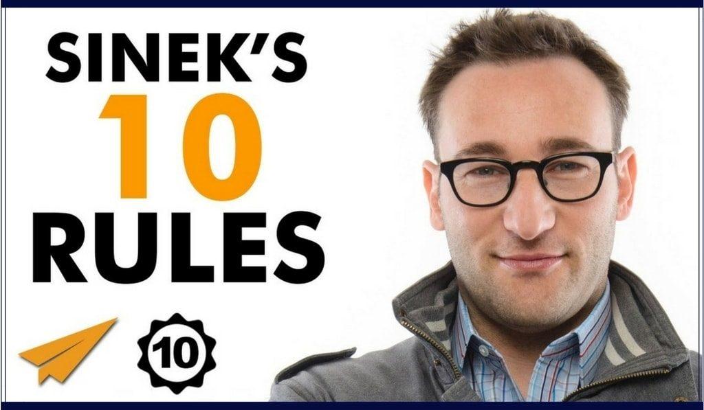 [Top 10] Simon Sinek – 10 principii pentru succes + 3 bonusuri (I)