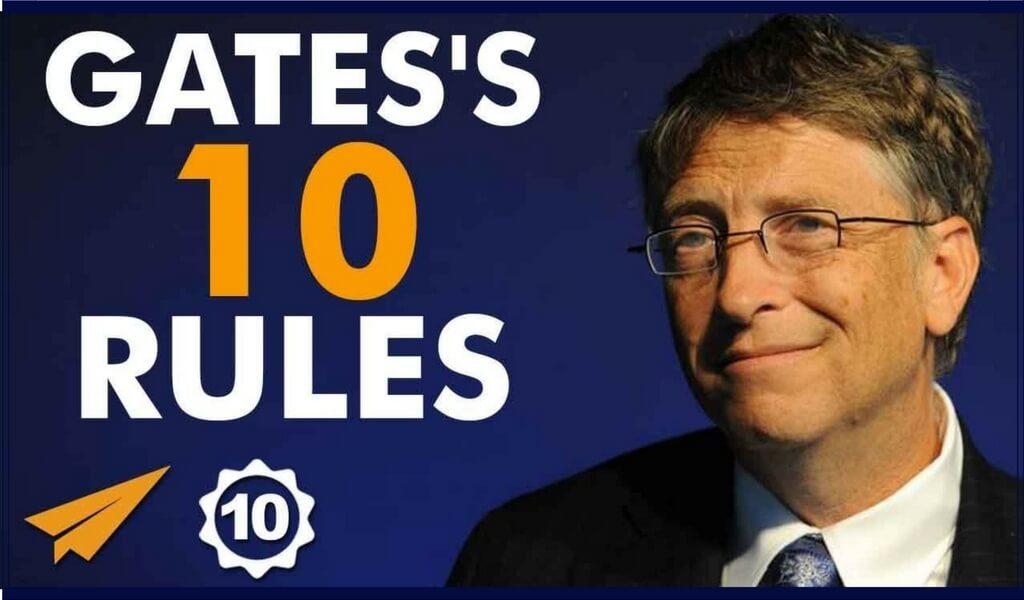 """[Top 10] Bill Gates-""""M-am descurcat cel mai bine dintre cei care au esuat."""""""