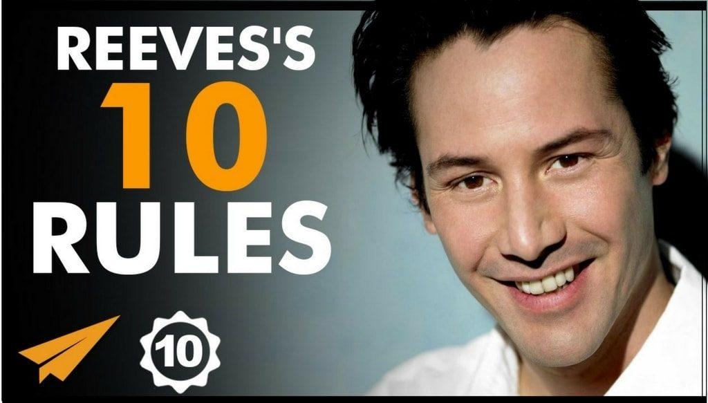 """[Top 10] Keanu Reeves : """"Energia nu poate fi creată sau distrusă, energia curge. Trebuie sa mearga [..]"""""""