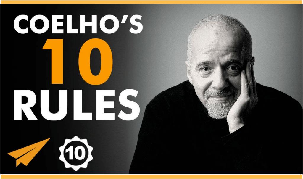 "[Top 10] Paulo Coelho: ""Nu e suficient sa stii CE VREI. E nevoie sa faci ce vrei SA FACI, ca sa devii ce vrei SA DEVII."""