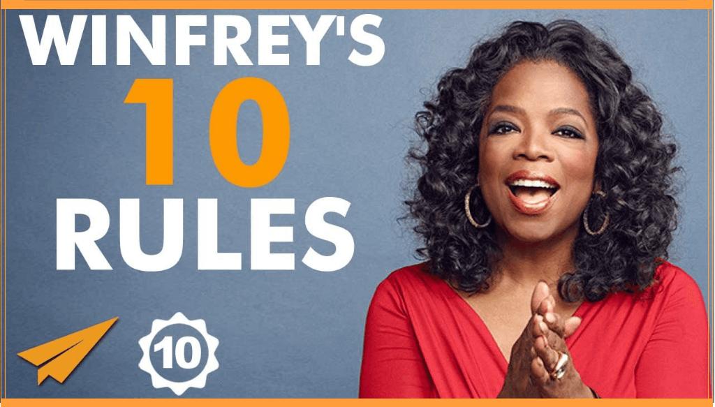 """[Top 10] Oprah Winfrey: """"Mostenirea lasata de noi e ceea ce facem in fiecare zi, fiecare viata pe care o atingem."""""""